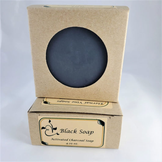 Black Soap Boxed Front