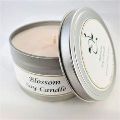 Blossom Soy Candle Open