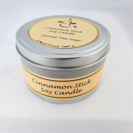 Cinnamon Stick Soy Candle Closed