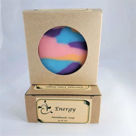 Energy Boxed Front