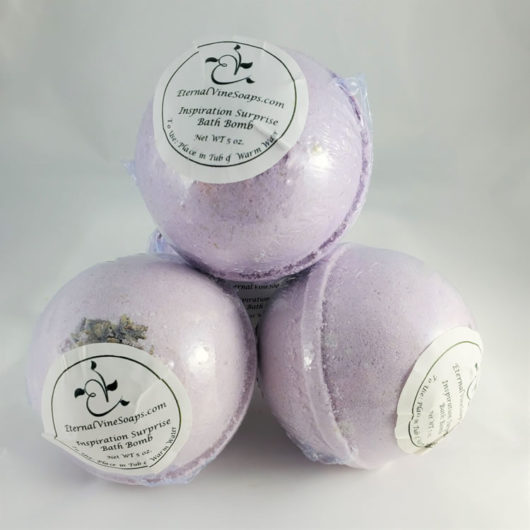 Inspiration Bath Bombs Front