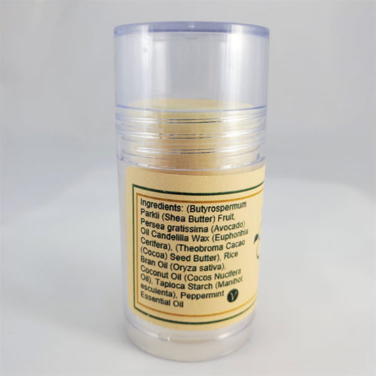 Peppermint Lotion Stick Back