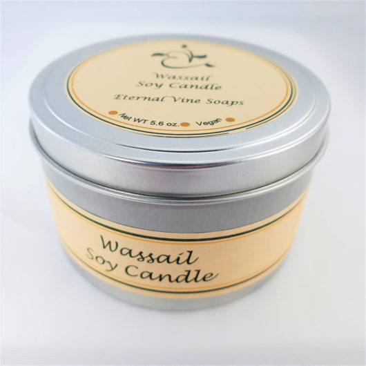 Wassail Soy Candle Closed
