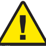 warning triangle symbol